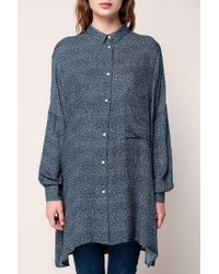 American Vintage - Blue Embroidered Tunics - Lyst