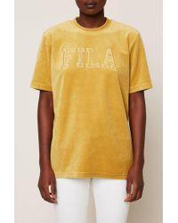 Fila - Yellow Jumper - Lyst