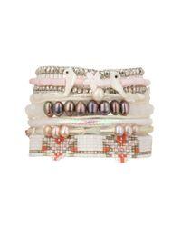 Hipanema | White Bracelet | Lyst