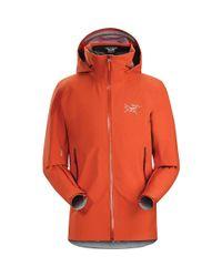 Arc'teryx - Orange Iser Jacket for Men - Lyst