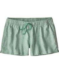 Patagonia Green Island Hemp Baggies Short