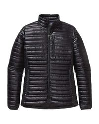 Patagonia - Black Ultralight Down Jacket - Lyst