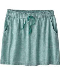 Patagonia - Green Island Hemp Beach Skirt - Lyst