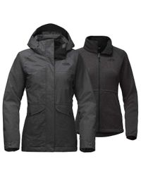 The North Face - Black Merriwood Triclimate Jacket - Lyst