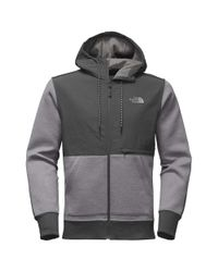 The North Face - Gray Blocked Thermal 3d Jacket for Men - Lyst