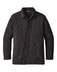 Patagonia Black Tough Puff Shirt for men