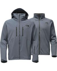 The North Face - Gray Apex Storm Peak Triclimate Jacket for Men - Lyst