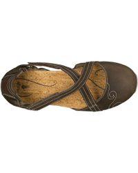 Ahnu - Brown Karma Latitude Leather Shoe - Lyst