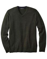 Smartwool - Green Kiva Ridge V Neck Sweater for Men - Lyst