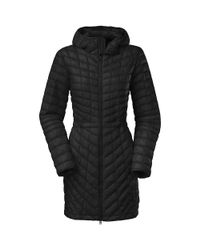 The North Face | Black Thermoball Hooded Parka | Lyst