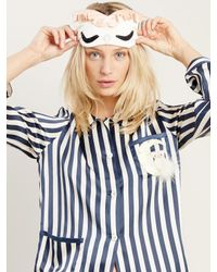 Morgan Lane - Blue Owl On The Moon Ruthie Top - Lyst