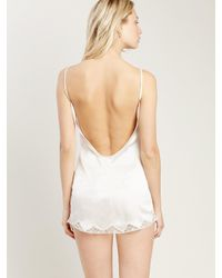 Morgan Lane - White Gisele Nightgown In Vanilla - Lyst