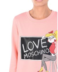 Love Moschino - Pink Short Dress - Lyst