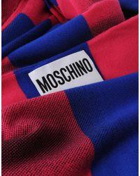 Moschino - Blue Scarf - Lyst