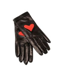 Boutique Moschino | Black Gloves | Lyst