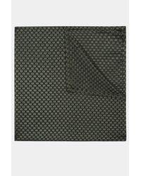 DKNY - Green Khaki Natte Textured Pocket Square for Men - Lyst