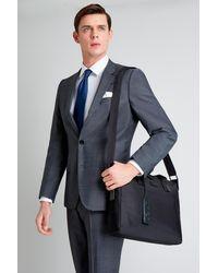 HUGO - Black Document Bag for Men - Lyst