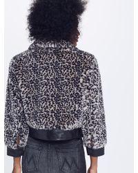Mother - Multicolor Boxy Crop Snap Jacket - Lyst