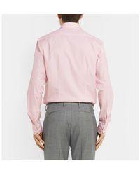 Paul Smith - Pink Soho Slim-fit Cotton-poplin Shirt for Men - Lyst