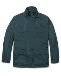 Loro Piana | Green Traveller Cashmere-lined Storm System® Shell Jacket for Men | Lyst