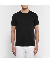 Save Khaki United - Black Supima Cotton-jersey T-shirt for Men - Lyst