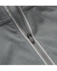 Under Armour - Gray Streaker Striped Heatgear Half-zip Top for Men - Lyst
