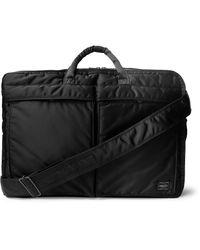 Porter - Black - Tanker Briefcase - Men - Nylon - One Size for Men - Lyst