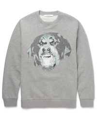 Givenchy - Gray Rottweiler-graphic Sweatshirt for Men - Lyst