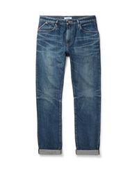Nonnative - Blue Dweller Slim-fit Selvedge Denim Jeans for Men - Lyst