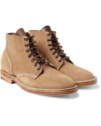 Viberg | Multicolor Boondocker Suede Boots for Men | Lyst
