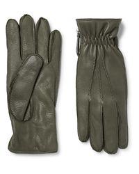Want Les Essentiels De La Vie | Multicolor Chopin Cashmere-lined Full-grain Leather Gloves for Men | Lyst