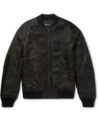 Alexander Wang | Black Camouflage-print Shell Bomber Jacket for Men | Lyst