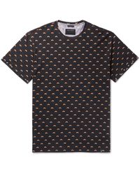 Marc Jacobs | Black Oversized Studded Rainbow-print Cotton-jersey T-shirt for Men | Lyst