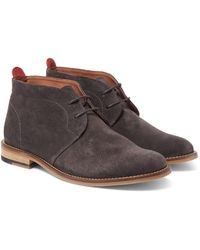 Oliver Spencer | Gray Baxter Suede Chukka Boots for Men | Lyst