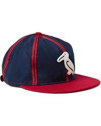 Ebbets Field Flannels   Blue 1944 New Orleans Pelicans Appliquéd Wool-felt Baseball Cap for Men   Lyst