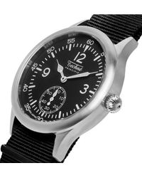 Techne - Black Merlin 246 Stainless Steel And Ballistic Nylon Watch for Men - Lyst