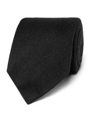 Tom Ford - Black 8cm Wool And Silk-blend Tie for Men - Lyst