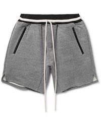 Fear Of God | Gray Loopback Cotton-blend Jersey Drawstring Shorts for Men | Lyst