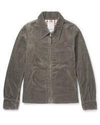 Visvim - Gray Cotton-blend Corduroy Jacket for Men - Lyst