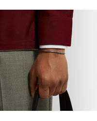 M. Cohen - Metallic Oxidised Sterling Silver And Gold-tone Cuff for Men - Lyst