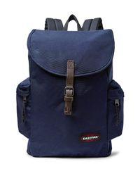 Eastpak - Blue Austin Nylon Backpack for Men - Lyst