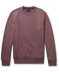 PS by Paul Smith - Purple Loopback Organic Cotton-jersey Sweatshirt for Men - Lyst