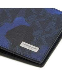 Michael Kors - Blue Men's Jet Set Billfold Wallet for Men - Lyst