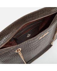 Love Moschino - Multicolor Croc Shopper Tote Bag - Lyst