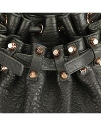 Alexander Wang - Black Women's Diego Pebble Leather Bag - Lyst