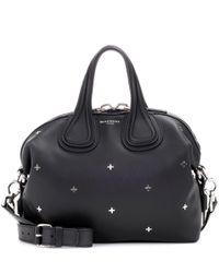 Givenchy - Black Nightingale Leather Shoulder Bag - Lyst