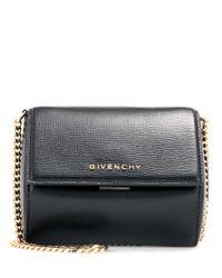 0478f194d55 Lyst - Sac à bandoulière en cuir Pandora Box Micro Givenchy en ...