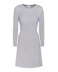 Tory Burch - White Printed Jersey Dress - Lyst