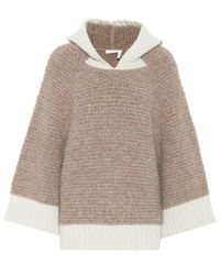 See By Chloé | Brown Knitted Sweater | Lyst