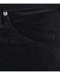 AG Jeans - Black The Jodi Crop Velveteen Jeans - Lyst